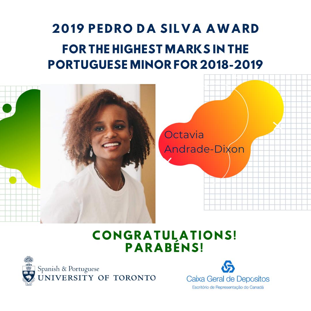 Congratulations to Octavia Andrade-Dixon.