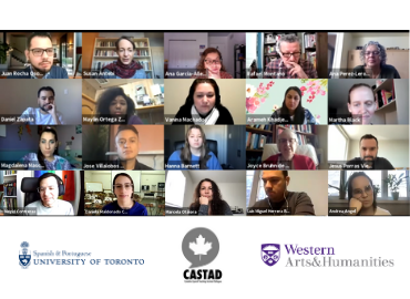 A screenshot of a virtual meeting with 20 participants