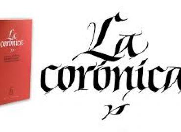 "Logo for ""La corónica"""
